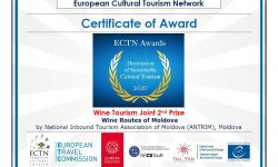 """Ruta """"Drumul Vinului Moldovei"""" premiată la nivel european. De 1 an avem o hartă turistică a cramelor din RM"""