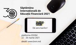 """BNM invită: """"Dă sens banilor"""",  în cadrul Săptămânii Internaționale de Educație Financiară"""
