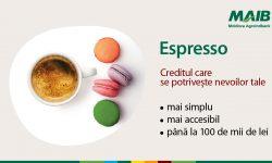 Creditul Espresso de la MAIB: Mai accesibil, mai simplu și adaptat nevoilor tale