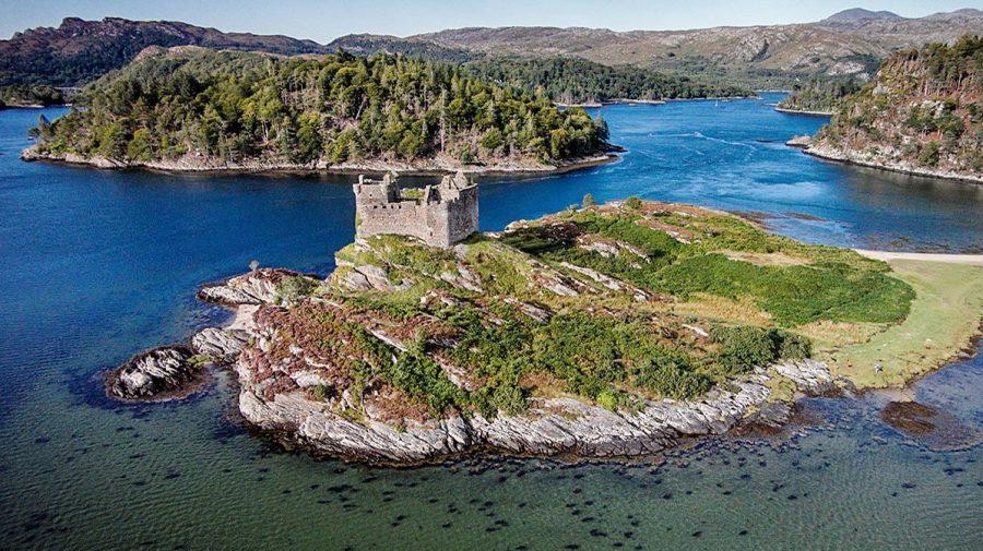 """Insula scoțiană """"uimitoare"""", scoasă la licitație la un preț de start de 112.000 de dolari"""