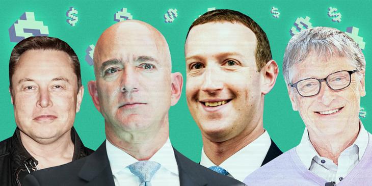 Ce sume ar plăti Jeff Bezos, Elon Musk, Bill Gates și Mark Zuckerberg pentru averile lor. Taxa bogaților din SUA
