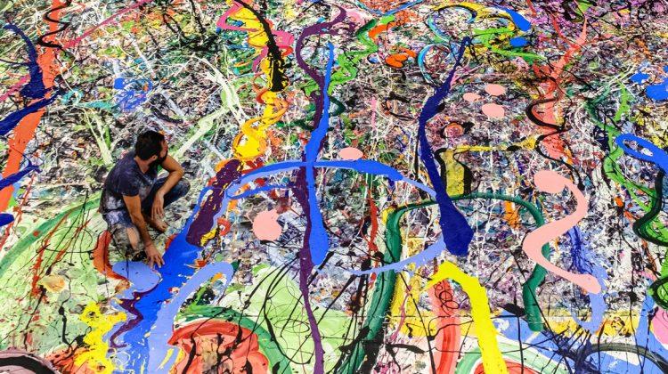 O creație derivată din cea mai mare pictură pe pânză din lume a fost vândută cu 62 de milioane de dolari
