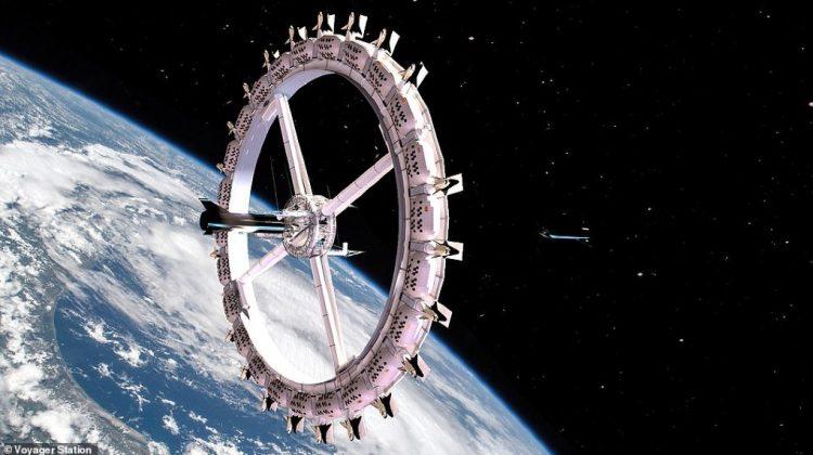 (GALERIE FOTO) Cum arată primul HOTEL din spațiu care ar putea fi operațional în 2027