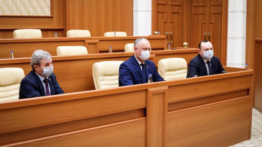 Igor Dodon, după consultările la Președinție: A vorbi despre scenarii politice ar fi inuman. Discutăm diferite scenarii
