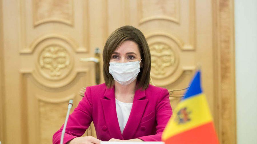 Maia Sandu, în discuție cu reprezentanții Ministerului Sănătății despre situația pandemică