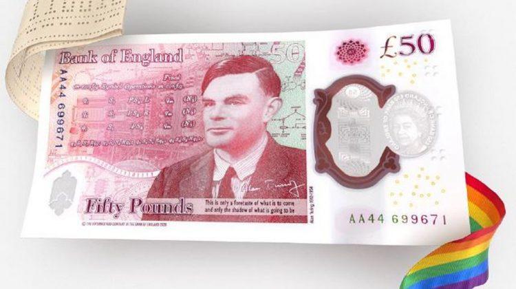 Cum arată noua bancnotă de 50 de lire sterline? Ce elemente are legate de viața lui Turing