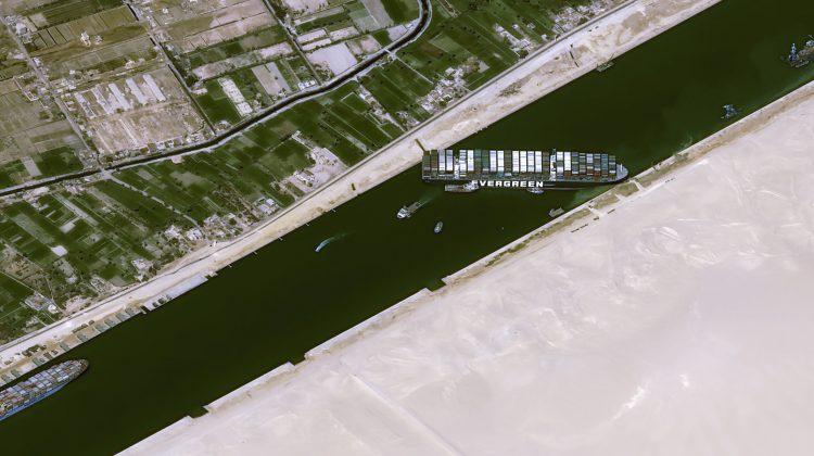 Cât a costat blocajul de pe Canalul Suez? Activități comerciale de 9,6 miliarde de dolari oprite în fiecare zi