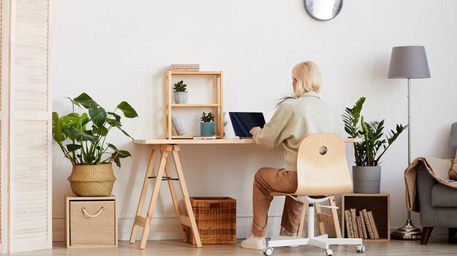 Despre munca de acasă. Cum îți organizezi biroul la domiciliu? 5 idei simple