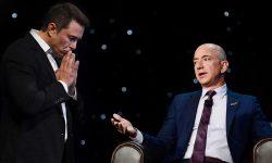 Elon Musk face glume deplasate la adresa lui Jeff Bezos. Ce a spus de această dată