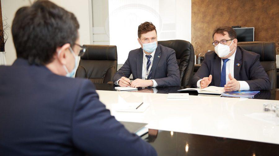 Guvernatorul BNM, întrevedere cu ambasadorul UE: Țara are nevoie de finanțare externă