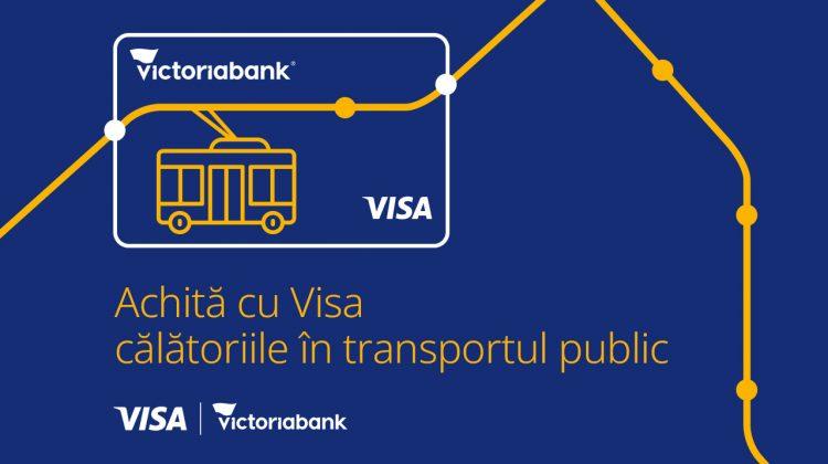 VISA, Primăria Municipiului Chișinău și Victoriabank introduc plata contactless în transportul public din Chișinău