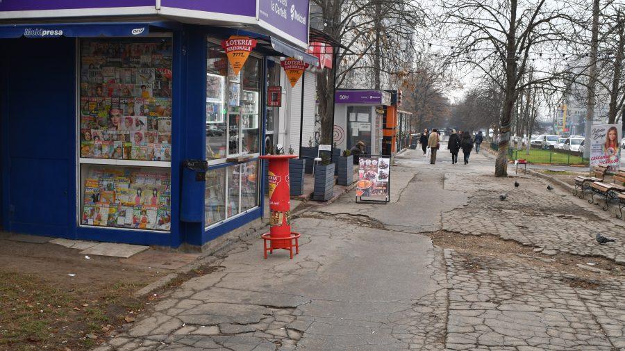 (DOC) Premieră! Primăria obține în instanță radierea proprietății și demolarea unei gherete amplasate pe trotuar