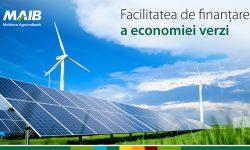 Finanțarea pentru investiții în economia verde, disponibilă prin intermediul MAIB