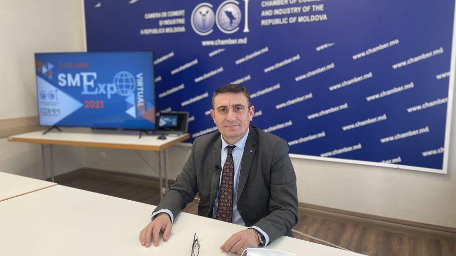 Interviu cu Sergiu Harea, Președintele Camerei de Comerț și Industrie, despre antreprenoriatul după pandemie (VIDEO)