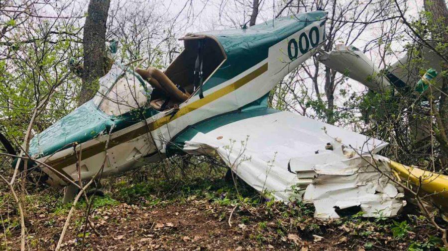 (VIDEO) Momentul prăbușirii avionului de la Vadul lui Vodă. Cum s-a întâmplat