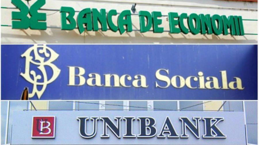 Foștii conducători ai celor trei bănci falimentate, împreună cu administratorul special al BEM trimiși în judecată