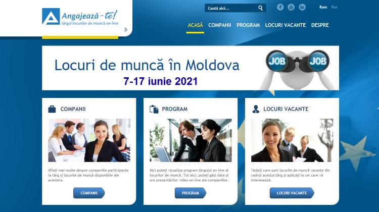 Târgul locurilor de muncă din luna iunie: Companiile sunt invitate să publice anunțurile de angajare