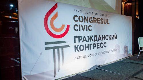 """(VIDEO) """"Congresul civic"""" a depus actele la CEC. Cine se află pe primele poziții"""