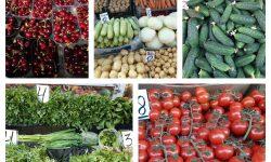 (FOTO) Cât costă fructele și legumele la Piața Centrală? Cireșele ajung la 150 de lei/kg, iar căpșunele s-au ieftinit
