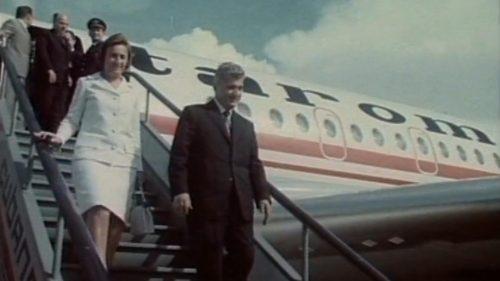 (FOTO) Avionul prezidenţial al lui Nicolae Ceauşescu va fi vândut la licitaţie. Care este prețul de start