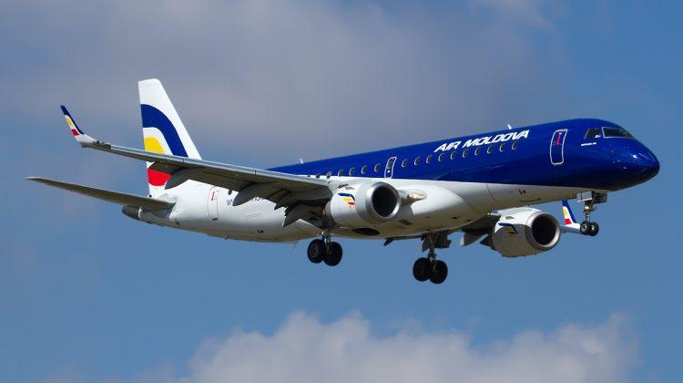 Aeronavă moldovenească, AVARIATĂ la aterizare pe aeroportul Domodedovo din Moscova