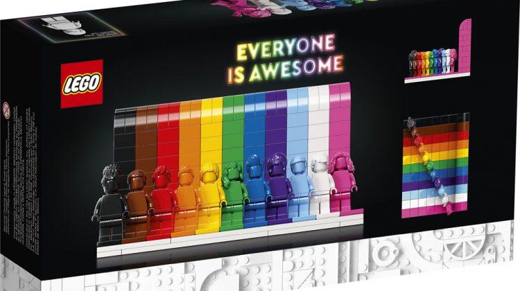 """""""Everyone Is Awesome""""! Lego susține comunitatea trans și a lansat un set de jucării LGBTQ+"""