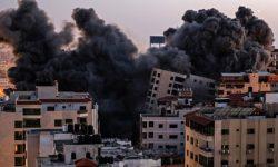 Ploaie de rachete asupra Tel Avivului, după ce un fief Hamas din Gaza a fost făcut una cu pământul. VIDEO înfricoșător
