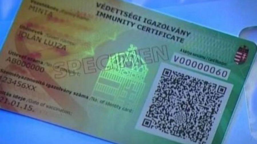 Ungaria a introdus cardul de imunitate. Cei vaccinaţi pot merge la teatru, cinema sau meciuri de fotbal