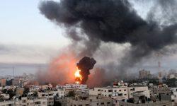 (FOTO) Fotografii care arată violența în creștere între Israel și palestinieni pe fondul atacurilor cu rachete