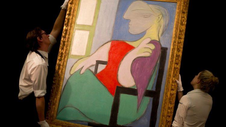 O pictură de-a lui Picasso s-a vândut cu 103 milioane de dolari. În 2013 s-a licitat cu 45 milioane de dolari