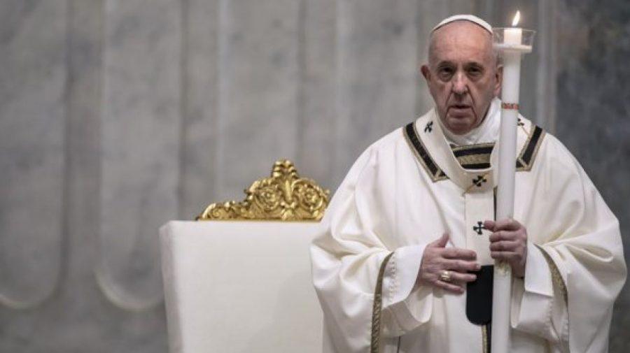 """Papa Francisc a deschis un """"maraton"""" de rugăciune pentru sfârșitul pandemiei în toată lumea. Cât va dura"""