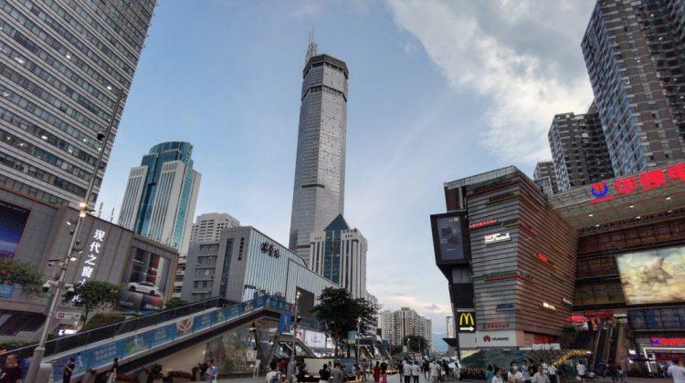 (VIDEO) Un zgârie-nori din China, de 79 de etaje, s-a clătinat puternic, fără motiv. Cum se explică incidentul