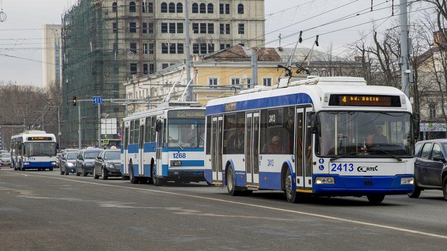 Cum va circula transportul public în seara de Paști? Troilebuzele vor avea program special