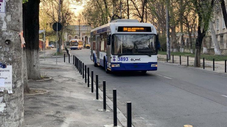 Atenție călători! Ruta de troilebuz nr. 24 își schimbă parțial itinerarul
