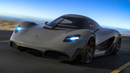 (FOTO) Nu toți producătorii auto se orientează spre electrificare. Hypercar de 1100 cai putere, alimentat cu hidrogen
