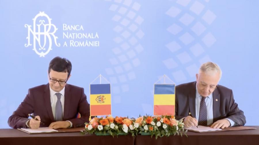 Băncile naționale din Moldova și România, o nouă cooperare. Mai mult efort pentru implementarea standardelor UE