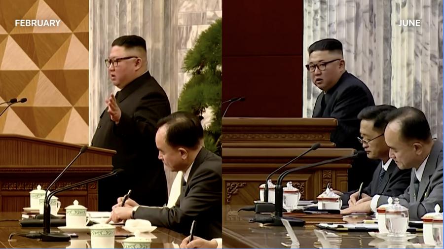 """Cum arată acum Kim Jong Un. Presă: Nord-coreenii sunt """"devastați"""" de starea dictatorului"""