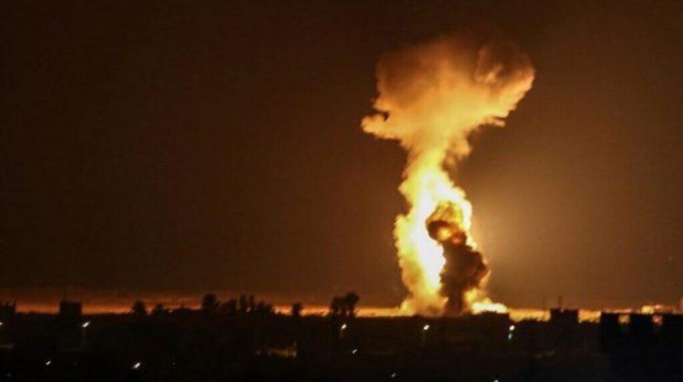Israelul a lansat noi lovituri aeriene împotriva Hamas în Gaza. Victime nu sunt