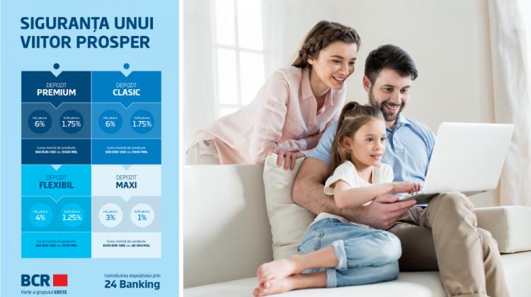 Siguranța unui viitor prosper cu Depozitele BCR Chișinău