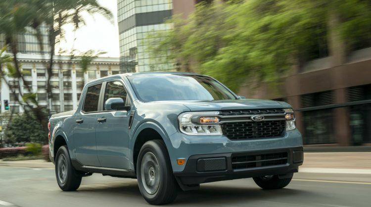 (FOTO/VIDEO) Prețuri începând de la 19.995 de dolari pentru noul camion hibrid Maverick de la Ford. Cum arată
