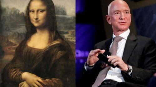 """Mii de oameni au semnat o petiție online pentru ca Jeff Bezos să cumpere și să """"mănânce"""" Mona Lisa. Motivul invocat"""