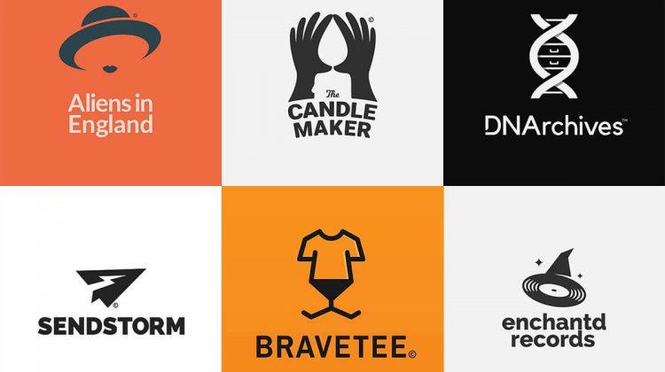 """(FOTO) Designerul grafic care are un ochi pentru logo-uri cu semnificație """"ascunsă"""". Creează câte un logo în fiecare zi"""