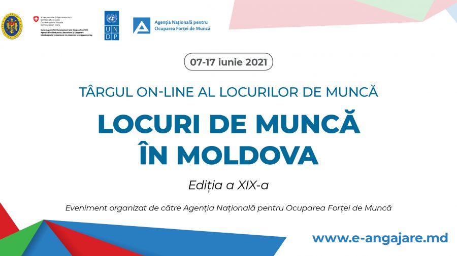 """Târgul on-line """"Locuri de muncă în Moldova"""". Unele salarii depășesc și 20 de mii de lei"""