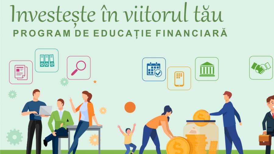 Traininguri gratuite de educație financiară. HARTA și Agenda evenimentelor până la finalul anului