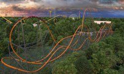(VIDEO) S-a deschis cel mai înalt roller coaster din lume, cu o singură cale ferată. Caracteristicile Jersey Devil
