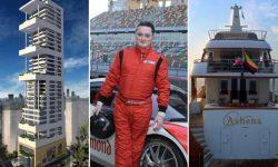 """Viața """"de lux"""" a miliardarului indian Gautam Singhania: de la Lamborghini, Ferrari la casă zgârie-nori și avion privat"""
