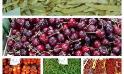(FOTO) Cireșele – mai ieftine. Ce prețuri sunt afișate astăzi la Piața Centrală pentru legume, fructe și verdeață