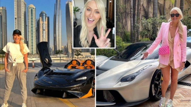 """""""Supercar Blondie"""": jurnalista care și-a lăsat jobul pentru a deveni """"carinfluencer"""". Câștigă peste 2 milioane de euro"""