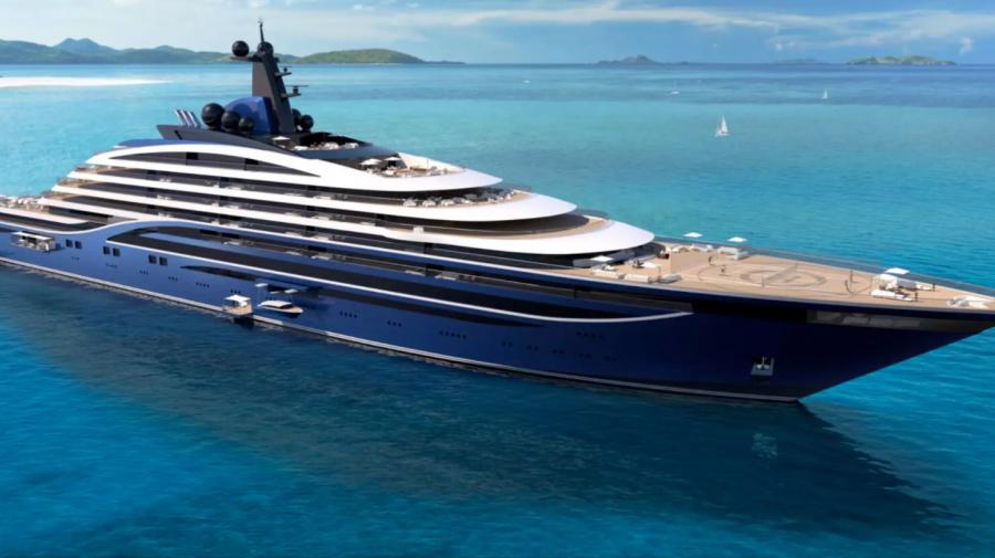 Superyachtul de 600 de milioane $: va fi cel mai mare din lume. Apartamentele de lux vor începe de la 11,2 milioane $