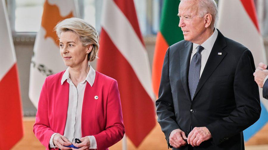 """Biden încheie războiul comercial cu UE: """"Părerile mele sunt radical diferite de cele ale predecesorului meu"""""""